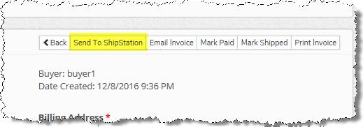 Adding ShipStation to the AuctionWorx UI